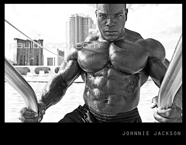 Johnnie Jackson - photo by paulbuceta for MUSCLMAG : Las Vegas