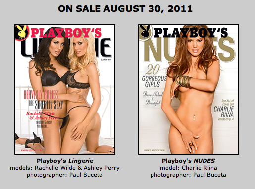 Playboy Covers by Paul Buceta