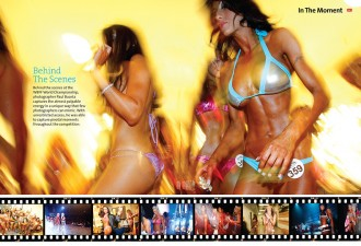 Oxygen 2 page spread by paul buceta