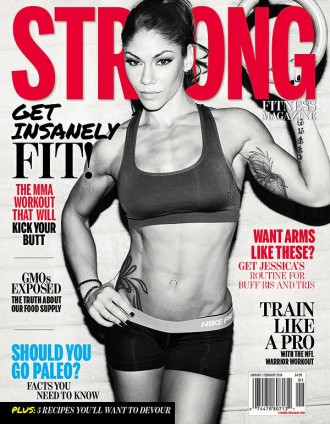 STRONG Fitness Magazine Issue 2 Cover with Jessica Rinaldi