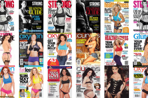 Over 200 Magazine and Book Covers