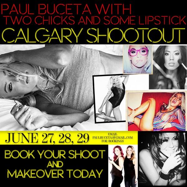 Paul Buceta Calgary Shoots