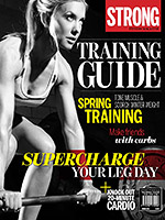 STRONG Fitness Magazine Training Guide - Shannon Prasarn