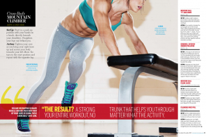 Random Cool Shots in STRONG Fitness Magazine
