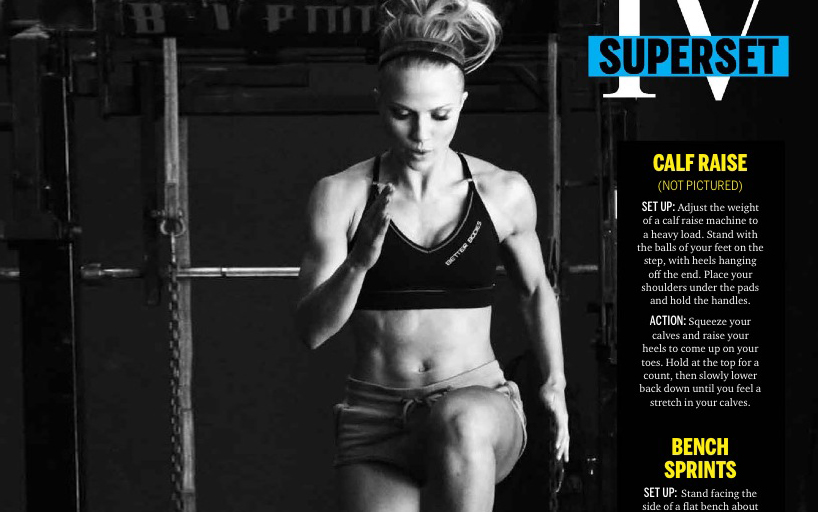 STRONG Fitness MAgazine - Samantha Leete 4tn