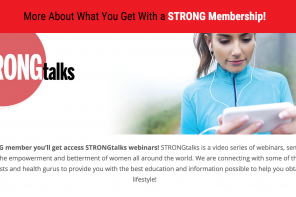 STRONG Fitness Magazine Membership