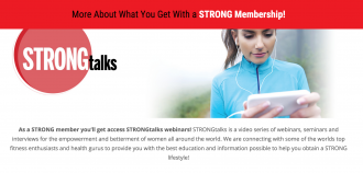 STRONG Fitness Magazine Membership Site