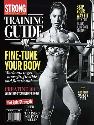 STRONG Fitness Magazine Cover - Anya Ells