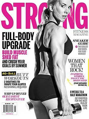 STRONG Fitness Magazine Cover - Shannon Prasarn