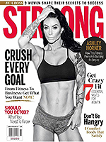 STRONG Fitness Magazine Cover - Ashley Horner