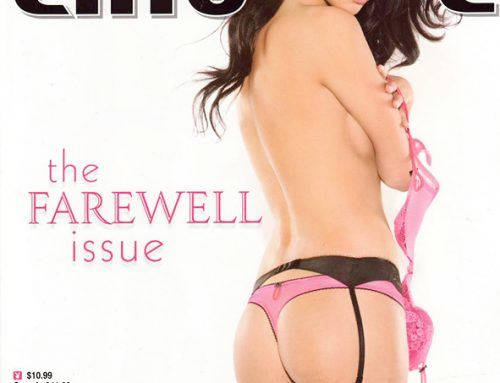 My Historic Playboy Cover with Kristie Taylor