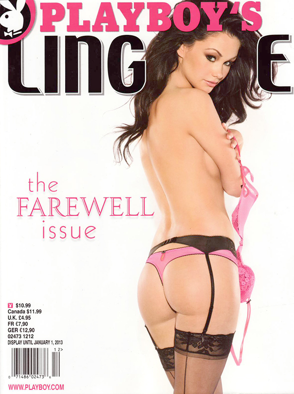Playboy Lingerie Special Edition - The Farewell Issue with Kristie Taylor