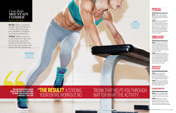Bella Falconi - November December 2013