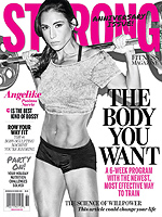 STRONG Fitness Magazine Cover - Angelike Psoinos-Norrie