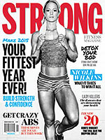 STRONG Fitness Magazine Cover - Nicole Wilkins