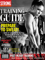 STRONG Fitness Magazine Training Guide Cover - Jessica Rinaldi