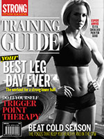 STRONG Fitness Magazine Training Guide Cover - Tiffany Lee Gaston