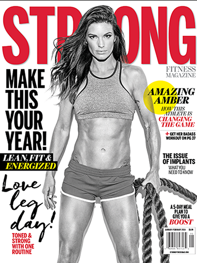 STRONG Fitness Magazine Cover - Amber Elizabeth-Dodzweit