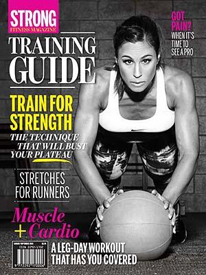 STRONG Fitness Magazine Cover -Brenda Cappadocia-Brouillard