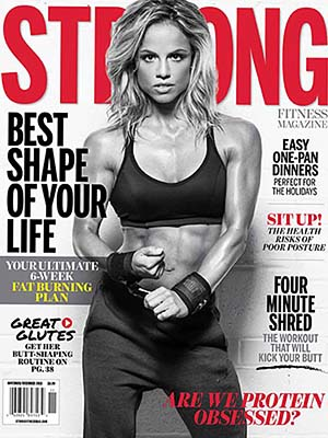 STRONG Fitness Magazine Cover - Emilie Provencher