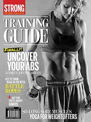 STRONG Fitness Magazine Cover - Rachel Davis