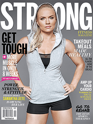 STRONG Fitness Magazine Cover - Samantha Leete