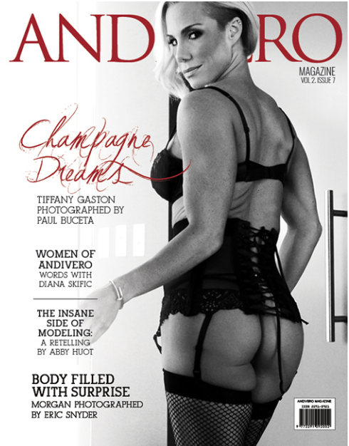 STRONG Fitness Magazine Cover - Tiffany Lee Gaston
