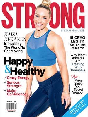 STRONG Fitness Magazine Cover with Kaisa Keranen