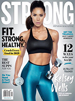Kelsey Wells - STRONG Fitness Magazine by Paul Buceta