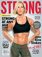 Tessa Virtue STRONG Fitness Magazine