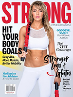 Rachel Davis - STRONG Fitness Magazine by Paul Buceta