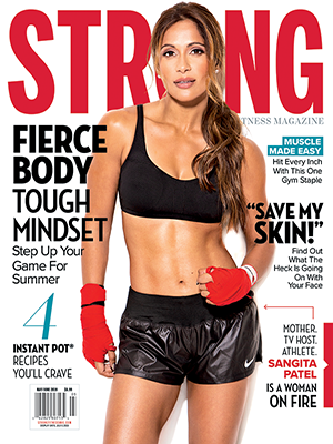 Sangita Patel - STRONG Fitness Magazine by Paul Buceta