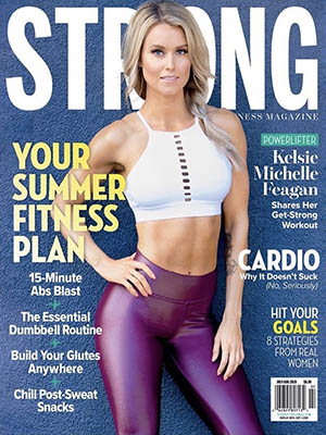 Kelsie Michelle - STRONG Fitness Magazine by Paul Buceta